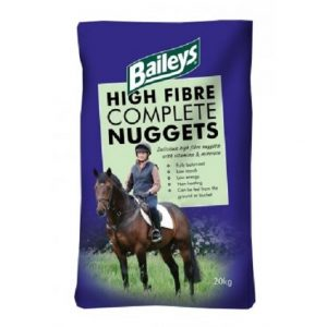Baileys High Fibre Complete Nuggets | Size: 20kg | Horse Food