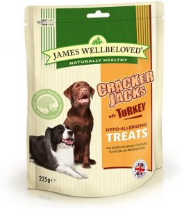 James Wellbeloved Turkey CrackerJacks Dog Treats | Size: 225g | Dog Treats