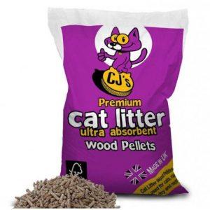 CJ's Premium Cat Litter (15 Litre)