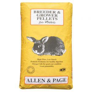 Allen & Page Rabbit Breeder & Grower Pellets (20kg)