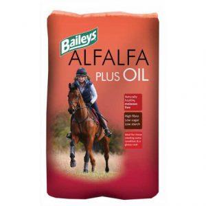 Baileys Alfalfa Plus Oil (20kg)