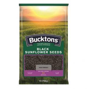 Bucktons Black Sunflower Seeds (12.75kg)