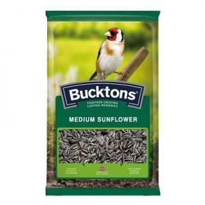 Bucktons Medium Striped Sunflower Seeds (12.75kg)