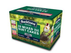 Bucktons Mixed No Mess Suet Cakes (20 x 300g)