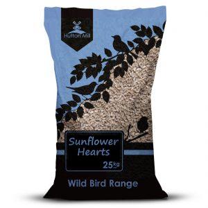 Hutton Mill Sunflower Hearts (25kg)