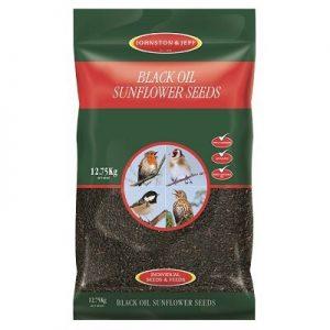 Johnston & Jeff Black Oil Sunflower Seeds (12.75kg)