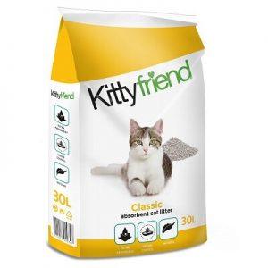 Kitty Friend Classic Cat Litter (30 Litre)